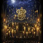 Griffindor Great Hall - iPad 1 by Serdd
