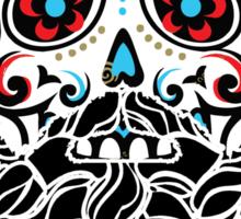 Day of the Dead Skull 2 Sticker