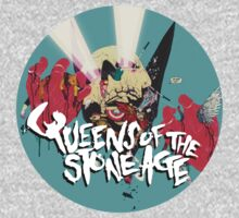 queens of the stone age Skull by ismunadji