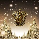 Griffindor Winter Crest by Serdd