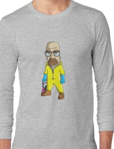 Walter White - Breaking Bad Cartoonified. Long Sleeve T-Shirt