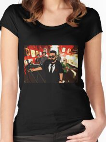 Perfect Strangers (Cartoon) Women's Fitted Scoop T-Shirt