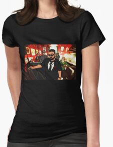 Perfect Strangers (Cartoon) Womens Fitted T-Shirt