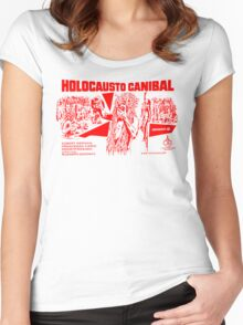 Cannibal Holocaust Women's Fitted Scoop T-Shirt