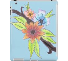 Vibrant Flowers iPad Case/Skin