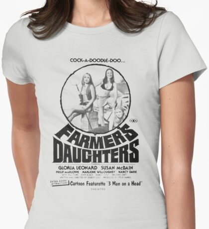Farmer's Daughters Womens Fitted T-Shirt