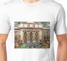 Model New York Public Library, Model Buildings, Model Trains, New York Botanical Garden Holiday Train Show, Bronx, New York, 2015 Unisex T-Shirt