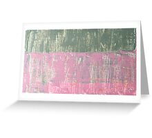 textures overlap Greeting Card