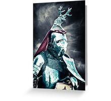 The Jackalope Knight Rides Again! Greeting Card