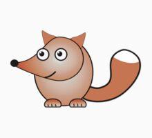 Little Cute Fox by Anastasiya Malakhova