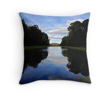Mansion Reflection Throw Pillow