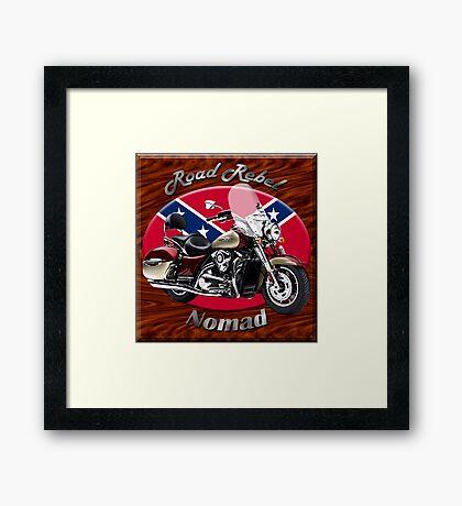 Kawasaki Nomad Road Rebel Framed Print