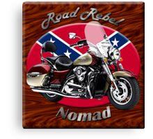 Kawasaki Nomad Road Rebel Canvas Print