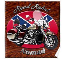 Kawasaki Nomad Road Rebel Poster