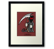 Palindrome from HELL! Framed Print
