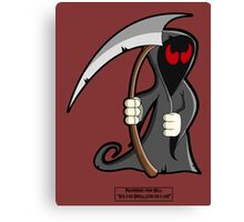 Palindrome from HELL! Canvas Print