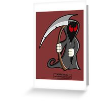 Palindrome from HELL! Greeting Card