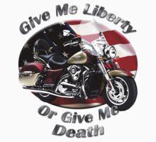 Kawasaki Nomad Give Me Liberty Baby Tee