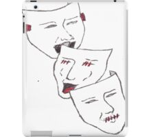 Hear no evil, see no evil, speak no evil. iPad Case/Skin