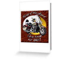 Kawasaki Nomad King Of The Road Greeting Card