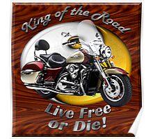 Kawasaki Nomad King Of The Road Poster