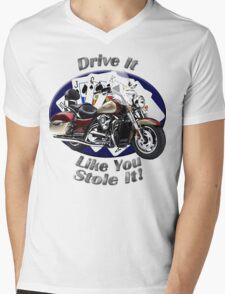 Kawasaki Nomad Drive It Like You Stole It Mens V-Neck T-Shirt