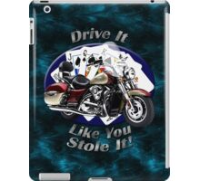 Kawasaki Nomad Drive It Like You Stole It iPad Case/Skin