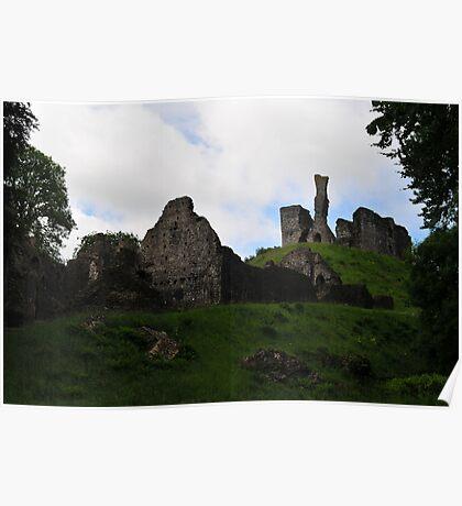 Okehampton Castle Poster