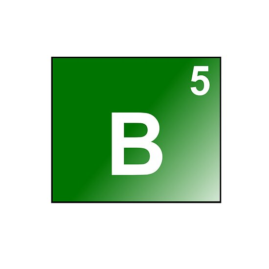 Boron - B5 by Atomic5