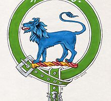 Scottish Crest of Clan Bruce by Cleave