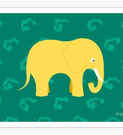 Lupy the Elephant Sticker