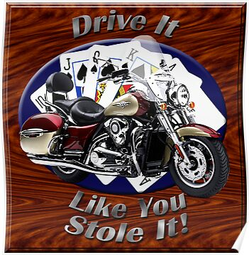 Kawasaki Nomad Drive It Like You Stole It by hotcarshirts