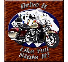 Kawasaki Nomad Drive It Like You Stole It Photographic Print