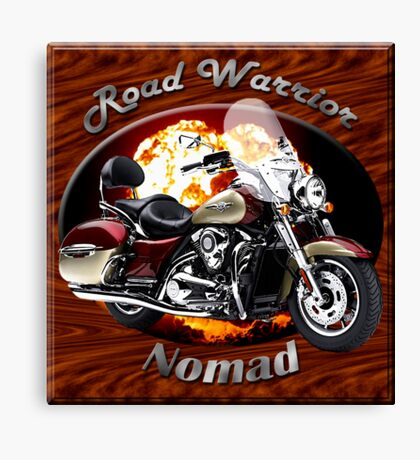Kawasaki Nomad Road Warrior Canvas Print