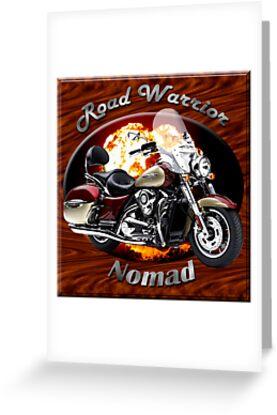 Kawasaki Nomad Road Warrior by hotcarshirts