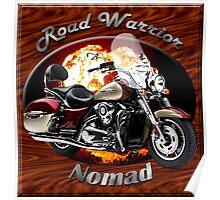 Kawasaki Nomad Road Warrior Poster