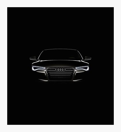Audi A6 Photographic Print