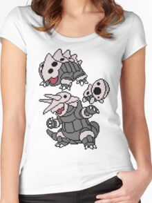 Aron, Lairon and Aggron Women's Fitted Scoop T-Shirt