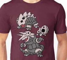 Aron, Lairon and Aggron Unisex T-Shirt