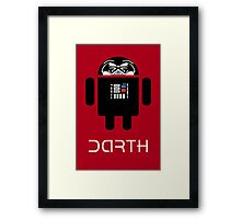 Darth Android Framed Print