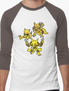 Abra, Kadabra and Alakazam Men's Baseball ¾ T-Shirt