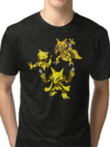 Abra, Kadabra and Alakazam Tri-blend T-Shirt