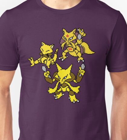 Abra, Kadabra and Alakazam Unisex T-Shirt