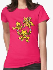 Abra, Kadabra and Alakazam Womens Fitted T-Shirt