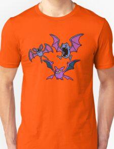 Zubat. Golbat and Crobat T-Shirt
