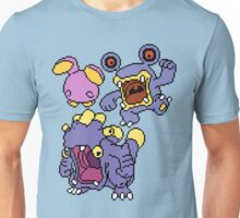 Whismur, Loudred and Exploud Unisex T-Shirt