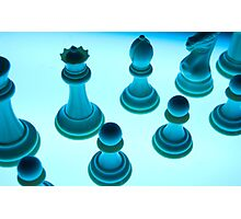 ChessBlue Photographic Print