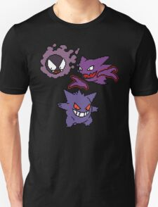 Gastly, Haunter and Gengar T-Shirt