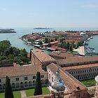 Venice birds eye view by Elena Skvortsova