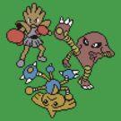 Hitmonchan, Hitmonlee and Hitmontop by Funkymunkey